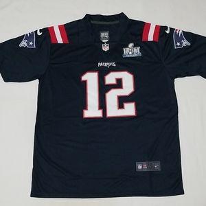 Ton Brady Super Bowl LIII  Patriots Jersey